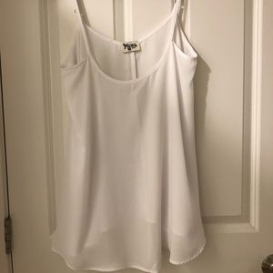 Show me your mumu crisp white tank